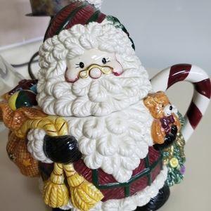 Santa cookies jar.